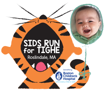 SIDS Run for Tighe logo